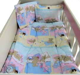 Бебешки Спален Комплект Лека Нощ в Синьо
