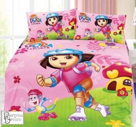 Детски спален комплект Дора изследователката
