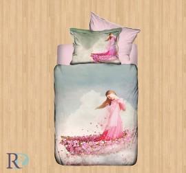 Спален Комплект 3D Flowers Girl