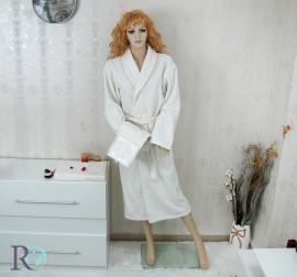 Комплект Халат за баня и хавлии Дебора Екрю