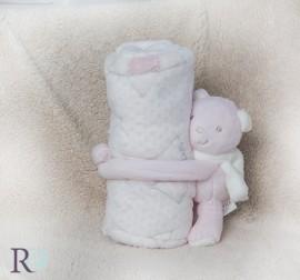 Бебешко Одеяло Рори Розово