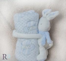 Бебешко Одеяло Рори Синьо