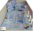 Бебешки спален комплект памук Пъзел