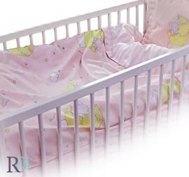 Бебешки Спален Комплект Слонче в Розово
