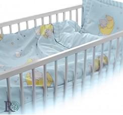 Бебешки Спален Комплект Слонче в Синьо