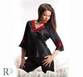 Пижама Кармен черна