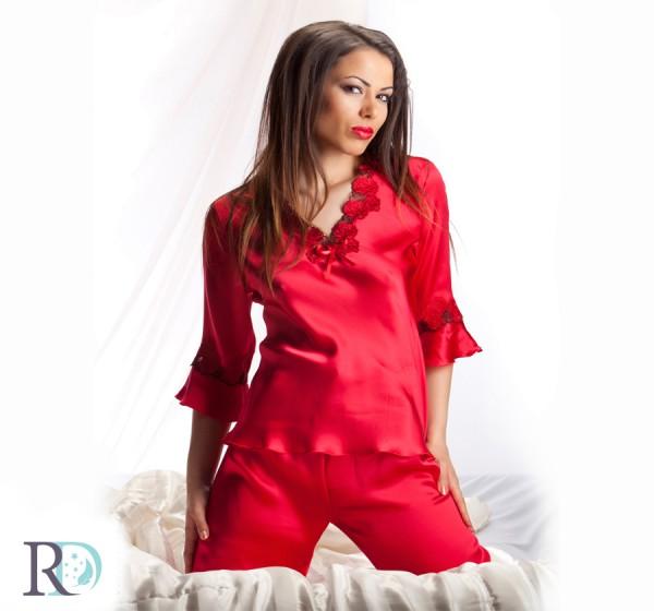 Пижама Кармен Червена