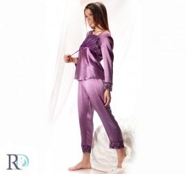 Пижама Тияна лилава