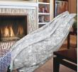 Одеяло Памук Орнаменти в Сиво