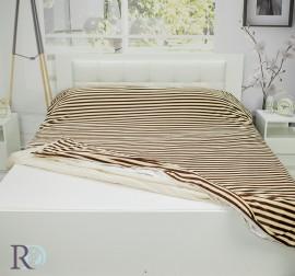 Одеяло Плик Прея Тъмно Бежово
