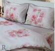 Спален комплект от памучен сатен Рози и Парфюм