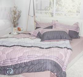 Спален Комплект Памучен Сатен Ная със завивка