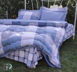 Спален Комплект Памучен Сатен Хектор със завивка