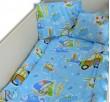 Бебешки спален комплект памук Сърфисти